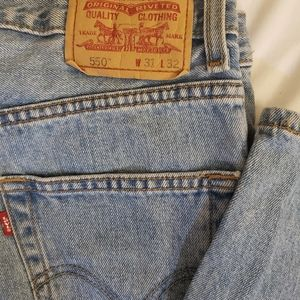Levis 550 sz. 31x42 relaxed fit jeans